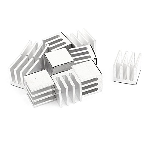 sourcingmap-10-pcs-foursquare-aluminum-9-x-9-x-9mm-heatsink-radiator-fin-silver-tone-for-ic