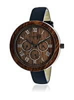 Earth Wood Reloj con movimiento japonés Woman 40.0 mm