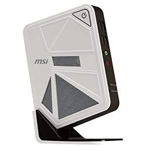 MSI DC111-027XEU Wind Box Desktop PC (Intel Celeron 1.8GHz, 500GB HDD, 4GB RAM, Wi-Fi, USB 3.0, HDMI, 3-in-1 Card Reader, No Operating System)