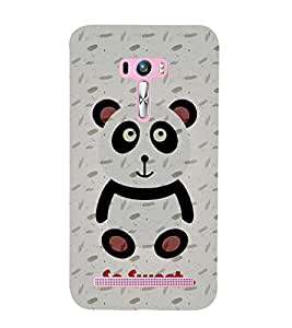 Teddy Bear Cute Fashion 3D Hard Polycarbonate Designer Back Case Cover for Asus Zenfone Selfie ZD551KL