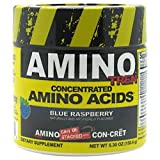 AMINO-TREN, Promera Sports, 5.30 oz., 150.4 grams, Blue Raspberry