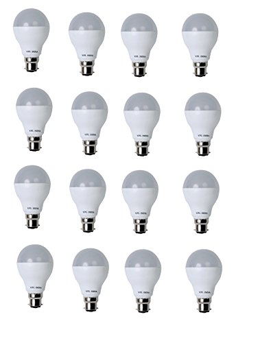 9 Watt LED Bulb (White, Pack of 16)