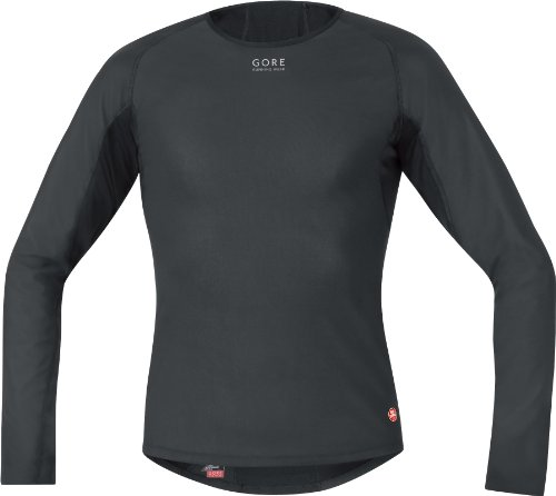 GORE RUNNING WEAR Essential Mens Baselayer Windstopper Thermo Shirt