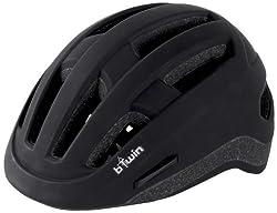 Btwin Urban-7 Helmet, Adult (Black), 1281181