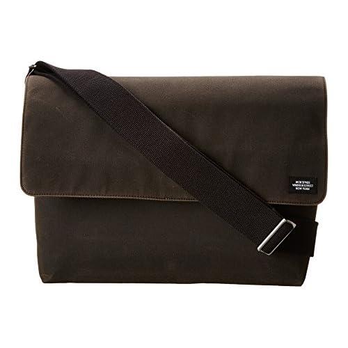(ジャック・スペード) Jack Spade ラップトップバッグ メンズ Jack Spade Waxwear Computer Field Bag Chocolate
