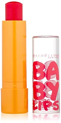 Maybelline New York Baby Lips Moisturizing Lip Balm, 0.15 Ounce