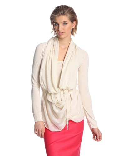 Josie Natori Women's Kiya Draped Sweater