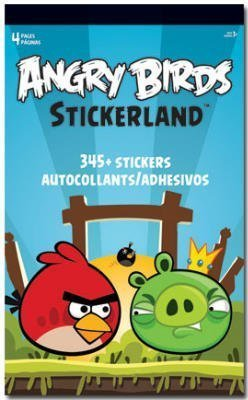Angry Birds StickerLand Pad - 345+ Stickers