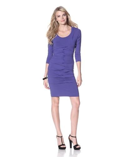 Nicole Miller Women's Tidal Pleat Dress