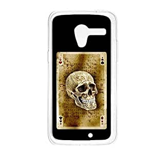 a AND b Designer Printed Mobile Back Cover / Back Case For Motorola Moto X (Moto_X_254)