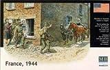 Masterbox 1:35 - France 1944 model figures 3578