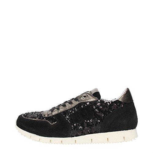 D'Acquasparta D1400 Sneakers Donna Crosta Black Black 36
