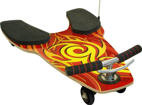 fuzion-spinner-shark-kneeboard-red