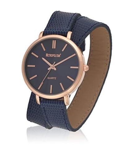 Metropolitan Reloj de cuarzo  Negro 36 mm