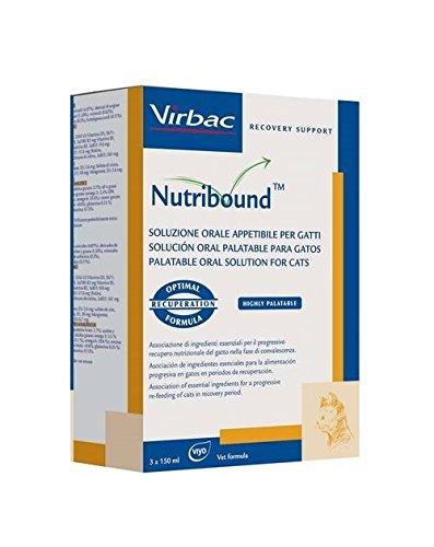 Virbac Nutribound per gatto - Soluzione orale per il recupero funzionale in convalescenza del gatto