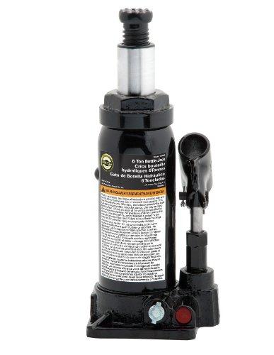 Omega 10065B Black Hydraulic Bottle Jack - 6 Ton Capacity (Bottle Jack 6 Ton compare prices)