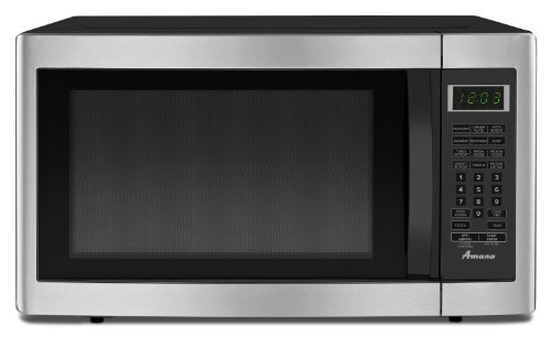 Best Buy! Amana 1.6 cu. ft. Countertop Microwave Oven, AMC2166AS, Stainless