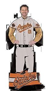 MLB Baltimore Orioles Uniform Huddler Blanket With Sleeves by Northwest