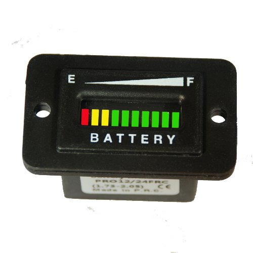 PRO12/24FRC ProPower's Battery Indicator - Solar Panel or Marine Trolling Motor 12 or 24 volts