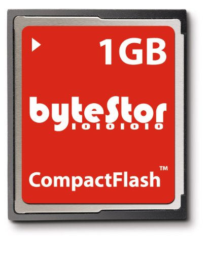 ByteStor 1GB CompactFlash Card