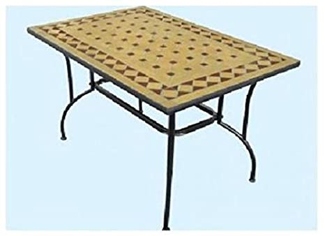 Stilnovo Cm.L120xP80xH72 Table Table de Jardin Mobilier Extérieur