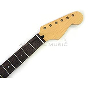 Mighty Mite Guitar Neck - Strat V Profile Guitar Neck - Rosewood - Fender LIC