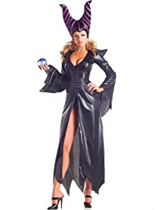Costume Adventure Women's Deluxe Sexy Maleficent Costume -S/M
