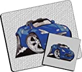 Personalised Koolart Nissan 370z Glass Table Mat Set