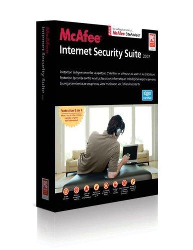Mcafee Internet Security Suite 2007 - Ensemble Complet - 3 Utilisateurs - Cd - Win - Français