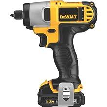 DEWALT DCF815S2 12-Volt Max 1/4-Inch Impact Driver Kit