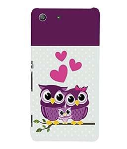 printtech Owls Back Case Cover for Sony Xperia M5 Dual E5633 E5643 E5663:: Sony Xperia M5 E5603 E5606 E5653