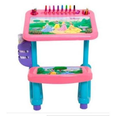 Disney Princess Art Desk With 100 Piece Art Supply Kit front-77085