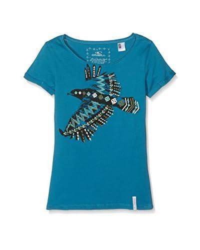 O'Neill T-Shirt Manica Corta Lg Falcon S/Slv  [Blu]