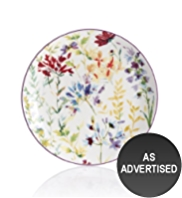 Meadow Floral & Leaf Side Plate