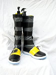 FF7 Final Fantasy VII Yuffie Kisaragi Cosplay Shoes Boots(DC)