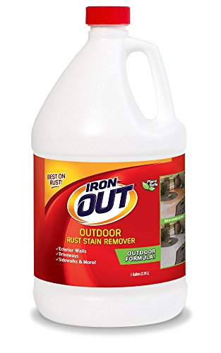 Super iron out li04128n rust stain remover 1 gallon multi for Driveway stain remover