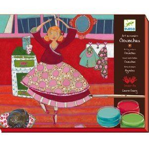 Djeco Paint by Numbers Gouaches, Dancers