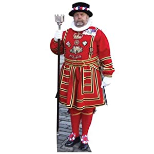 Amazon.com: H58064 Red Beefeater Cardboard Cutout Standup: Prints
