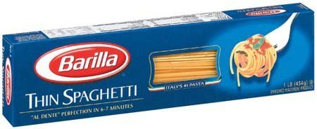 Barilla Thin Spaghetti Pasta, 16 Oz (Pack of 3) (Barilla Thin Spaghetti compare prices)