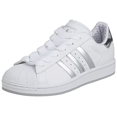 Amazon.com: Adidas Originals Superstar 2 White/Silver