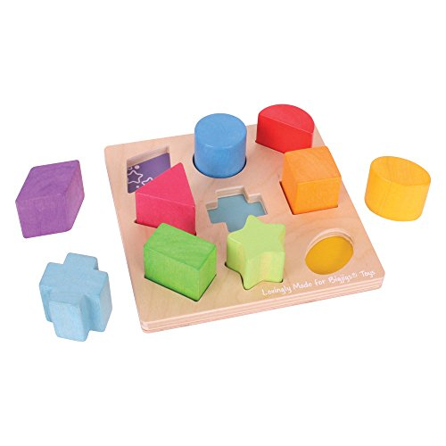 Bigjigs Baby First Shapes Sorter - 1