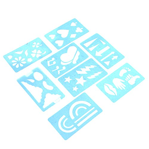 Face Painting Stencil Set - Over 36 stencil styles