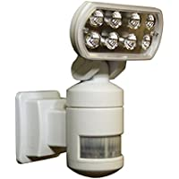 Versonel VSLNWP502 Nightwatcher Security Motion Track Light (White/Black)