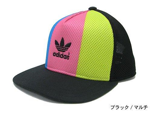 (アディダス) adidas×Rita Ora カラー ブロック キャップ コラボ オリジナルス