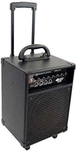 PYLE-PRO PWMA230 - 200W VHF Wireless Battery Powered PA System