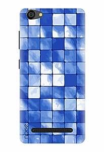 Noise Designer Printed Case / Cover for LYF WIND 6 / Patterns & Ethnic / Aqua Ocean Design