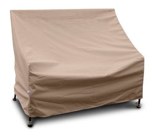 Koverroos Weathermax 42450 3-Seat Glider/Lounge Cover, 78-Inch Width By 38-Inch Diameter By 30-Inch Height, Toast front-683669