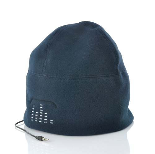 Beanie Hat - Built-In Headphones (Blue)