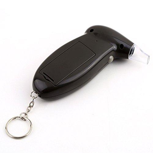 Vale® LCD numérique alcool testeur d'haleine alcootest Analyzer Détecteur d'essai Porte-clés