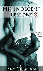 His Indecent Lessons 3 (Erotic Romance)